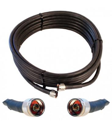 Антенный удлиняющий кабель ITelite N-Male - N-Male 3м