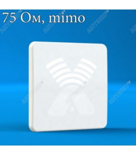 AGATA-F MIMO 2x2 F-female (75 Ом) - панельная антенна 4G/3G/2G