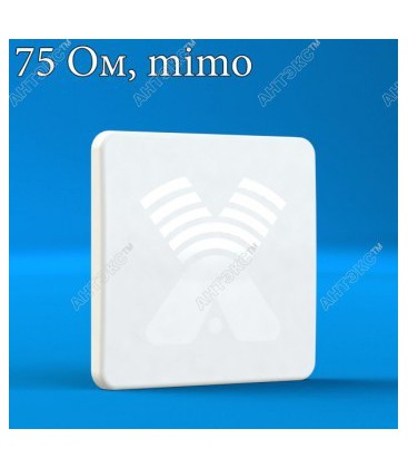 AGATA-F MIMO 2x2 F-female (75 Ом) - панельная антенна 4G/3G/2G