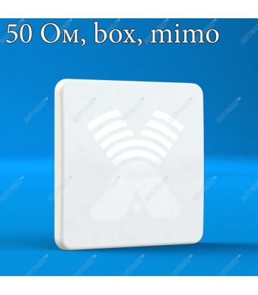 AX-2520P MIMO 2x2 BOX - антенна 4G LTE2600 с боксом для модема