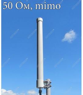 Всенаправленная антенна AX-2409R MIMO 2x2 (OMNI)