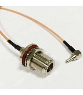 Антенный адаптер для USB 3G/4G модемов Huawei (N-female/CRC9)