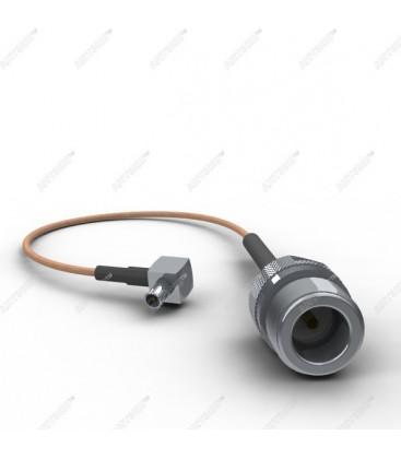 Антенный адаптер для USB 3G/4G модемов Huawei (N-female/TS9)