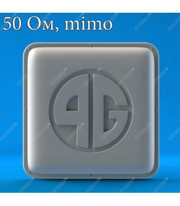 AX-809PF MIMO 2x2 - панельная антенна для 4G LTE800