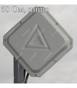 Компактная MIMO 2x2 панельная антенна 4G (AX-3515P MIMO 2x2)