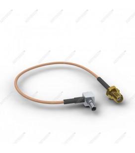 Антенный адаптер для USB 3G/4G модемов Huawei и ZTE (SMA-female - TS-9)
