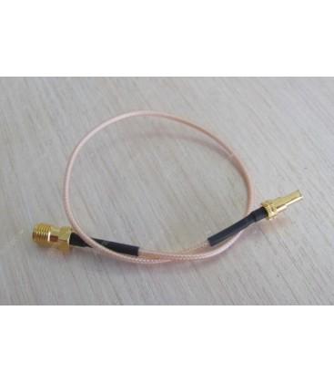 Антенный адаптер для 3G/4G USB модемов Huawei (F-female - CRC-9 угловой)
