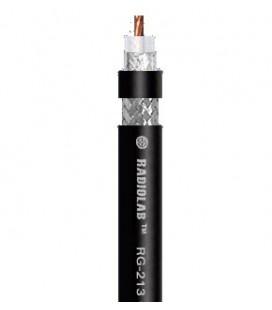 RG-213C/U (black) PVC