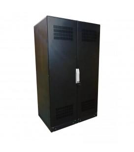 SNR-UPS-BCT-201208-10 Аккумуляторный шкаф 10 полок, с отсеком для автомата,2000х1200х800мм