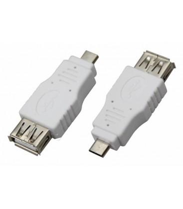 USB-A (Female)-microusb (Male) Rexant